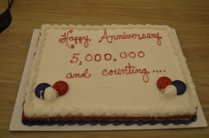 Philly311 celebrated it's 5 millionth call and 4th anniversary this past December